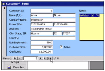 how to access labels in a show dialog windows form