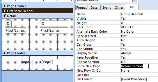 how to start numbering on specific page word