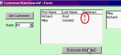 Microsoft Access 321: SQL WHERE, Multi-Select Listbox, AddItem to