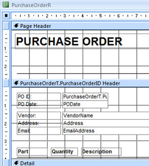 Microsoft Access 329: Purchase Orders, Receiving Inventory, Email POs, Bulk  Email To Customers  Microsoft Purchase Order Template
