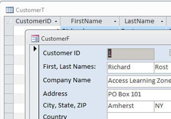 Microsoft Access 2010 Beginner Level 2 Tutorial Form Design