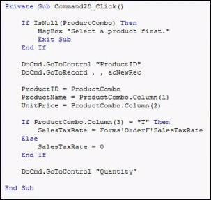 Microsoft Access Developer Level 1 Tutorial Access VBA