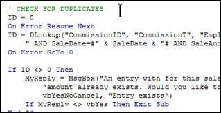 Microsoft Access Developer Level 3 Tutorial Access Vba Visual Basic