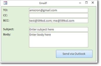 Microsoft Access Email Seminar