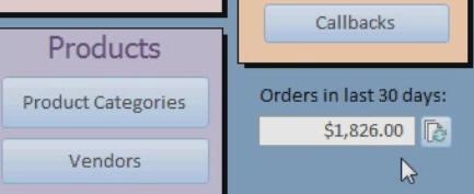 Microsoft Access Tutorial: DSUM Sales Totals